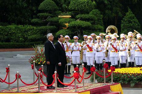 Hinh anh le don Tong thong Myanmar tham chinh thuc Viet Nam - Anh 4
