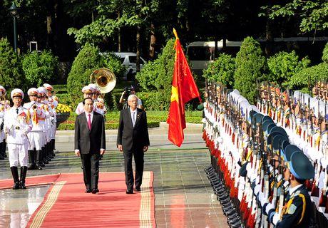 Hinh anh le don Tong thong Myanmar tham chinh thuc Viet Nam - Anh 5