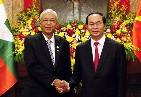 Hinh anh le don Tong thong Myanmar tham chinh thuc Viet Nam - Anh 6