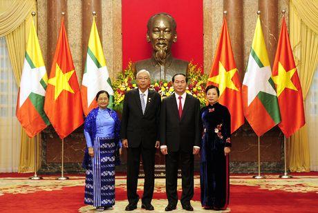 Hinh anh le don Tong thong Myanmar tham chinh thuc Viet Nam - Anh 7