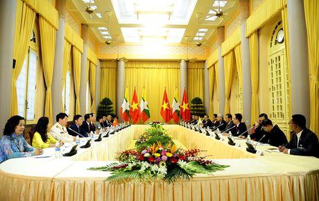 Hinh anh le don Tong thong Myanmar tham chinh thuc Viet Nam - Anh 8