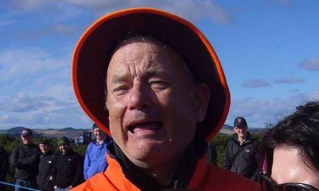 Cong dong mang tranh cai ve buc anh Tom Hanks hay Bill Murray - Anh 1