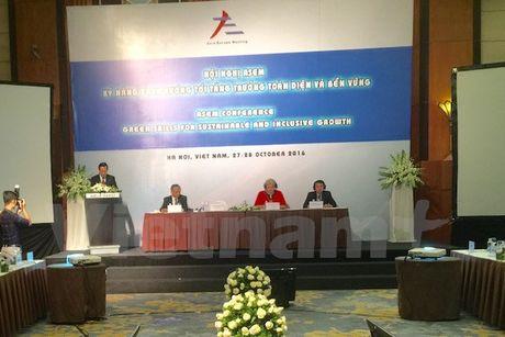 Dien dan ASEM: Dao tao ky nang nghe huong toi Kinh te Xanh - Anh 1