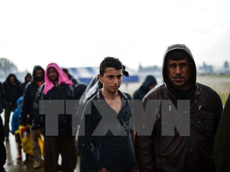 Tho Nhi Ky keu goi NATO ngung su menh tren bien Aegean - Anh 1