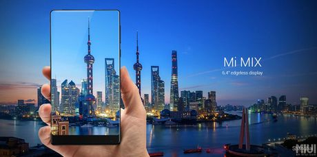Tren tay Xiaomi Mi Mix khong vien man hinh, gia hoi - Anh 1