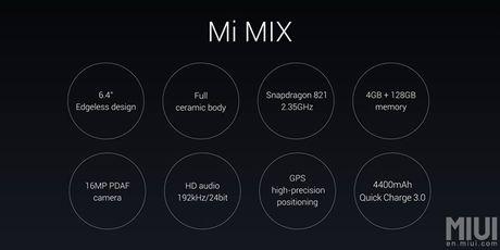 Tren tay Xiaomi Mi Mix khong vien man hinh, gia hoi - Anh 3