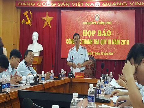 Dang trien khai thanh tra PVC noi Trinh Xuan Thanh tung lanh dao - Anh 1