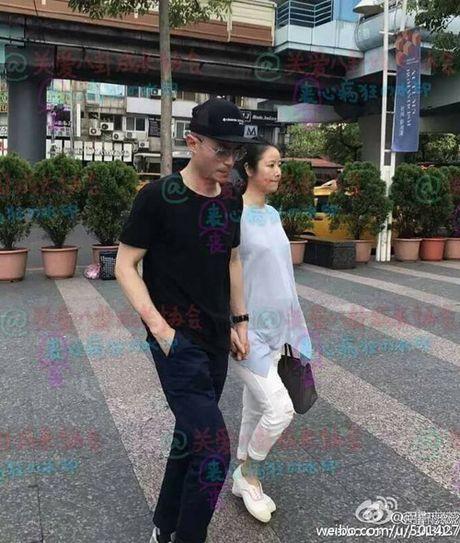 Lam Tam Nhu gay chu y voi bung bau 6 thang tren pho - Anh 1