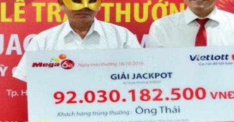 Vietlott phu nhan tin don thu hoi 92 ty dong cua nguoi trung thuong - Anh 1