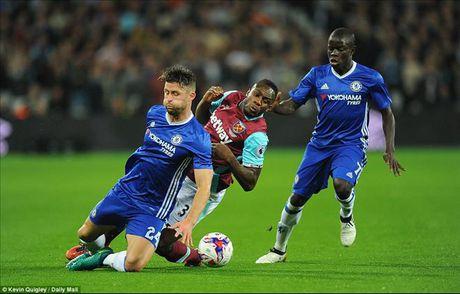 West Ham 2-1 Chelsea: Cai gia cua su mao hiem - Anh 2