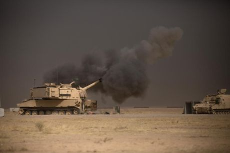 Cac Luc luong Iraq chuan bi danh thang vao TP Mosul - Anh 1