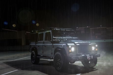 Land Rover Defender do offroad khung voi 'trai tim' My - Anh 8
