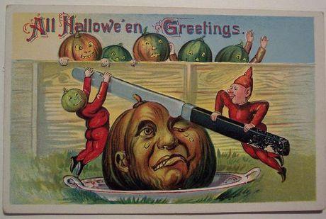 Nhung buu thiep co cuc doc ve le hoi Halloween - Anh 1