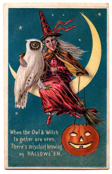Nhung buu thiep co cuc doc ve le hoi Halloween - Anh 2