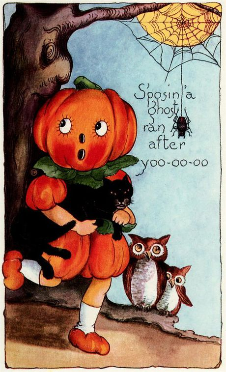 Nhung buu thiep co cuc doc ve le hoi Halloween - Anh 8
