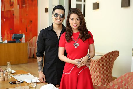 Truong Ngoc Anh dien cay do den mung sinh nhat Thien Nguyen - Anh 2