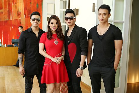Truong Ngoc Anh dien cay do den mung sinh nhat Thien Nguyen - Anh 4