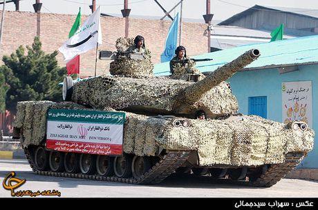 Xe tang Zolfaqar manh ngang T-90MS, Iran 'mo mong vien vong'? - Anh 1