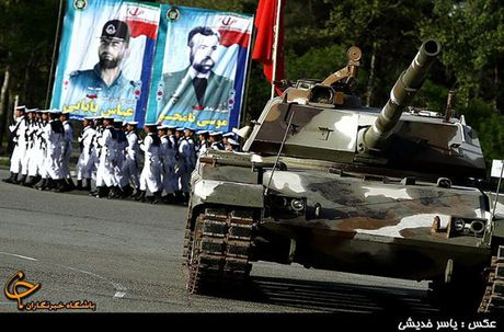 Xe tang Zolfaqar manh ngang T-90MS, Iran 'mo mong vien vong'? - Anh 2