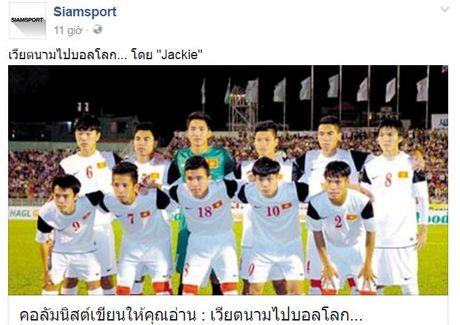 Diem tin toi 27/10: Bao Thai phan tich chien thuat U19 Viet Nam - Anh 1
