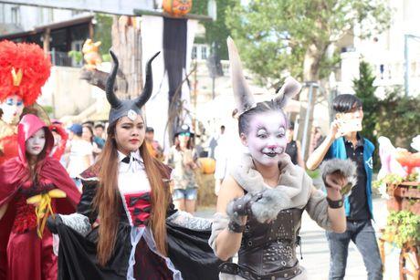 Vui het co voi Le hoi huyen bi Halloween Ba Na Hills 2016 - Anh 2