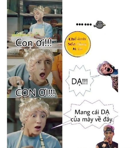 Muon kieu bieu cam cua Son Tung trong anh che - Anh 3