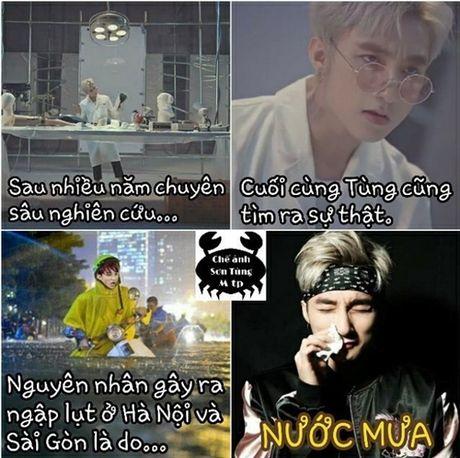 Muon kieu bieu cam cua Son Tung trong anh che - Anh 8