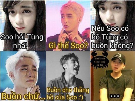 Muon kieu bieu cam cua Son Tung trong anh che - Anh 9