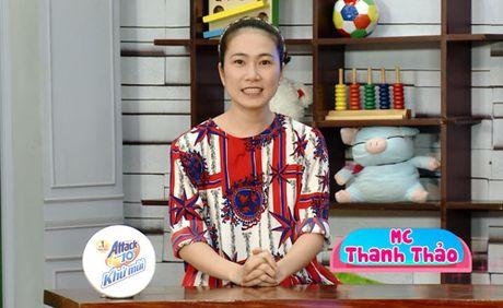 MC Thanh Thao canh giac chuyen day con ung pho voi nguoi la - Anh 1