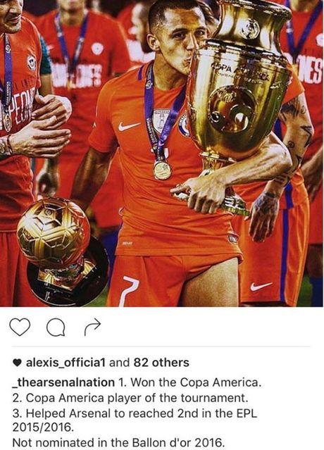 Arsenal: Sanchez da kich danh hieu Qua bong vang - Anh 1