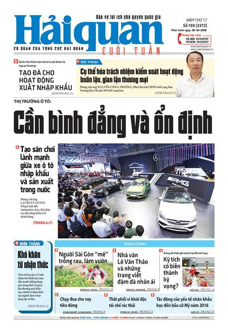 Nhung tin, bai hap dan tren Bao Hai quan so 130 phat hanh ngay 30-10 - 2016 - Anh 1