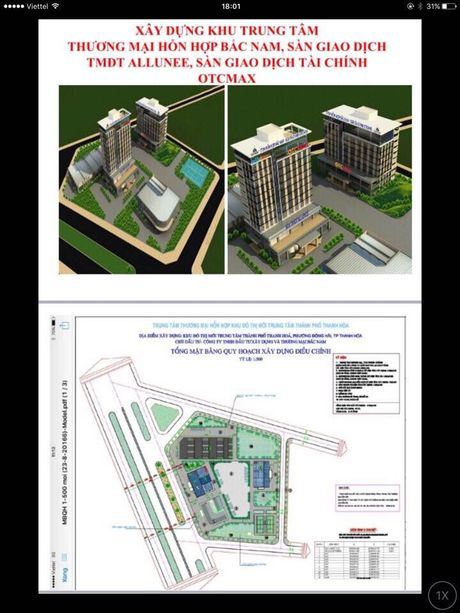 Thanh Hoa: Xay dung khu trung tam thuong mai Bac Nam - Anh 3