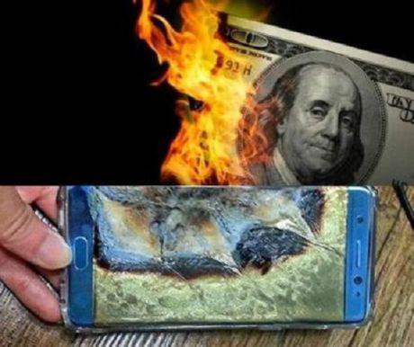 Samsung: Loi nhuan dien thoai giam ky luc sau tham hoa Note 7 - Anh 1