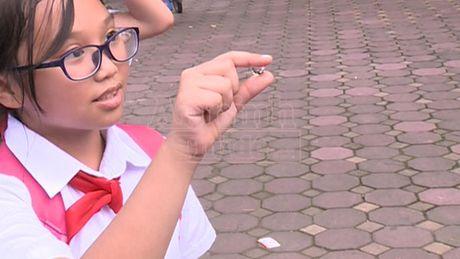 Ha Noi: Hat nhua no doc hai o at tai xuat o cong truong hoc - Anh 1