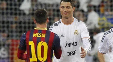 Ronaldo nguong mo Messi, he lo hau ve kho choi nhat - Anh 1