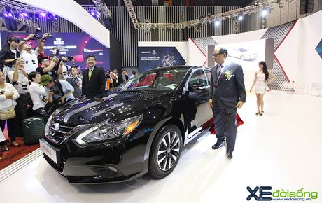 Nissan Teana 2016 cong bo gia ban 1,5 ty dong - Anh 1