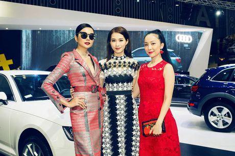 Nhieu sao showbiz Viet hoi ngo tai gian hang Audi o VIMS 2016 - Anh 17