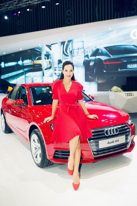 Nhieu sao showbiz Viet hoi ngo tai gian hang Audi o VIMS 2016 - Anh 6