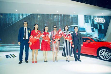 Nhieu sao showbiz Viet hoi ngo tai gian hang Audi o VIMS 2016 - Anh 9