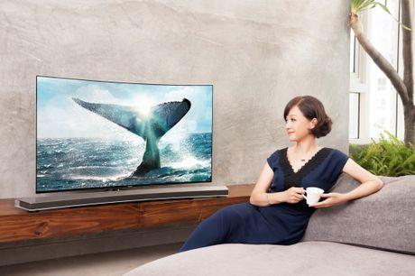 TV Samsung boi thu giai thuong tai chau Au va My - Anh 1
