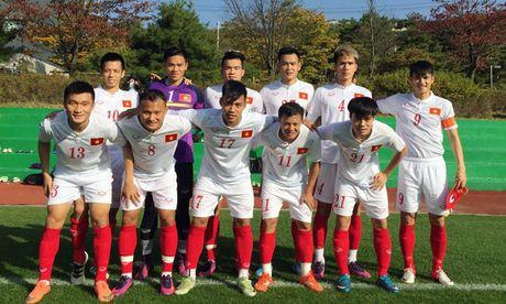 DT Viet Nam thang dam Pocheon FC trong tran dau tap cuoi tai Paju - Anh 1