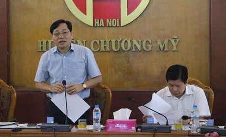 Chuong My: Them 8 xa lap ho so de nghi cong nhan dat chuan nong thon moi - Anh 1