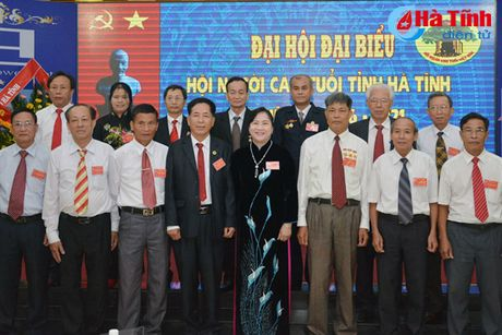 Dai hoi Hoi Nguoi cao tuoi tinh Ha Tinh nhiem ky 2016-2021 - Anh 4