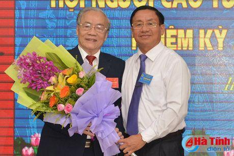 Dai hoi Hoi Nguoi cao tuoi tinh Ha Tinh nhiem ky 2016-2021 - Anh 5