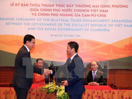 29 mat hang Viet Nam duoc mien thue nhap khau vao Campuchia - Anh 1