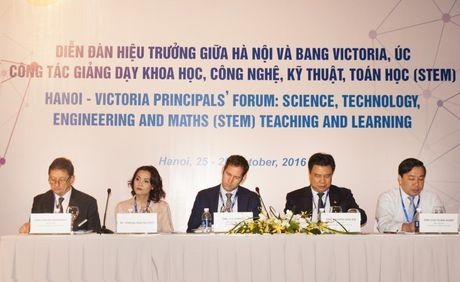 Dien dan Hieu truong cac truong pho thong ve giang day STEM - Anh 1