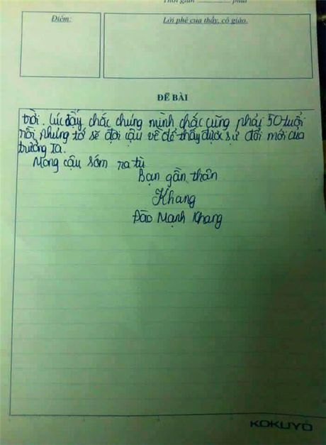 Phi cuoi bai van cua nam sinh 'mo lam Bo truong, thon tinh the gioi' - Anh 5