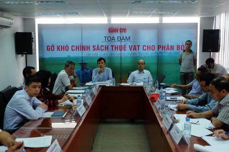 Go kho chinh sach thue VAT cho phan bon - Anh 1