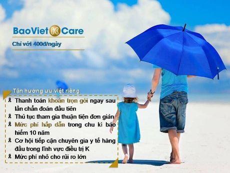 'Bao Viet K-care' - Giai phap huu hieu va nhan van cho benh ung thu - Anh 3