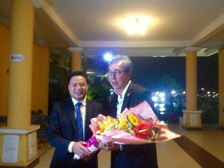 Pho Thu tuong Vuong quoc Thai Lan tham quan pho co Hoi An - Anh 1